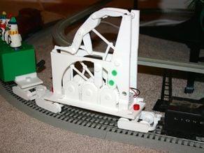 Christmas Rail Car 7