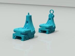3D Printable Folding Iron Sights V1.1