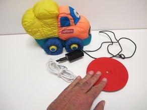 Pulsador circular / Round Button