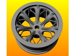 Gaman wheel rim 1/10 for RC cars 26mm x 52mm