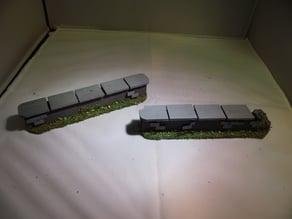 28 mm warhammer scale - stone / brick wall