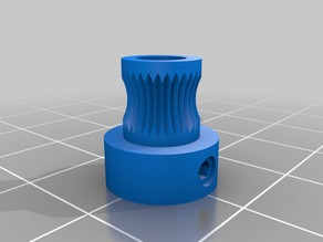 Extruder gear wheel (rueda dentada)