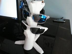Sunglasses Holder - expandable and modular