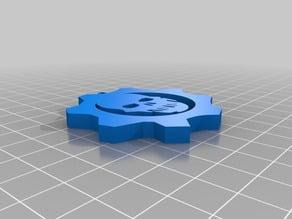 Gear of War Logo pendent