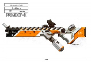 (Spilt) Full Scale District 9 Rifle!