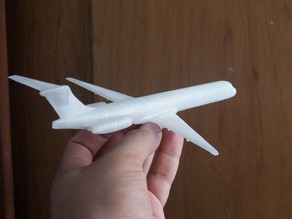 MD80 Aircraft Scale Model