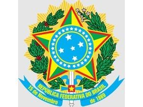 Armas Nacionais do Brasil - Coat of arms of Brazil