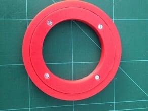 Parametric slew bearing
