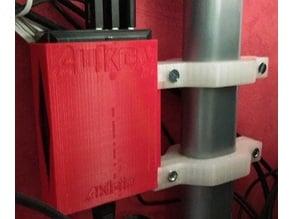 Support chargeur Aukey 5xUSB sur bureau métallique