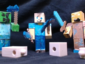 MineCraft Action Figures