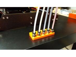 MMU 2 5x PC4-M10 Tube Halter flach