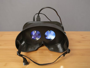 3D Printed Wearable Video Goggles