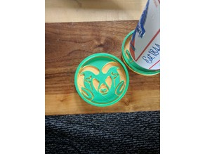 CSU Rams Coaster