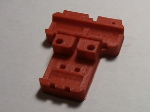 X-carriage for TubularBot or Prusa i3