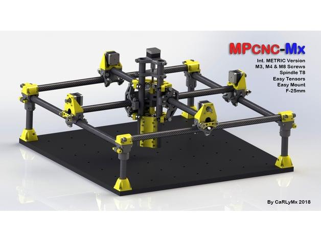 MPCNC-Mx - Metric Version & F25mm [by CaRLyMx] by carlymx