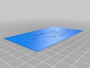 SolderSCAD: 3D printed solder masks!