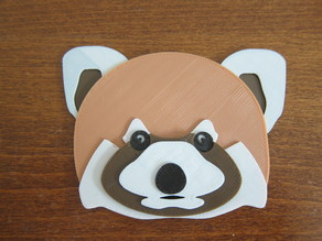 Red Panda Badge