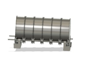 6 roll dry box roller + accessories.