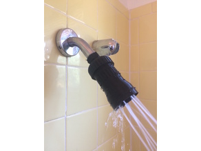 High Flow Adjustable Shower Head