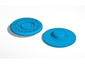 Tech Grip Fidget Spinner Caps