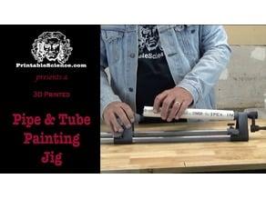 3D Printed Pipe & Tube Painting Jig