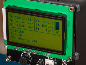SainSmart Megatronics LCD12864 mount to ORD Bot Hadron