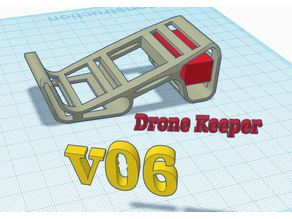 Quad Starting block & Lipo Protector (DroneKeeper version)