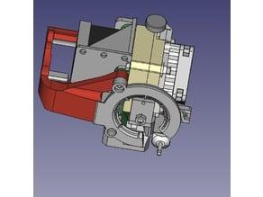 Modular Ring Fan Duct for Anet Titan Aero Mount W/ BLTouch