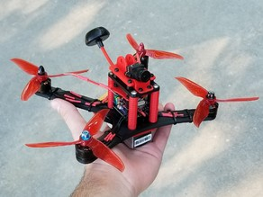 Silverback Fully 3D Printable FPV Drone Frame