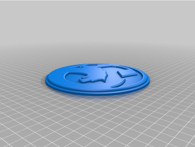 Vauxhall Badge by bobmoffat - Thingiverse