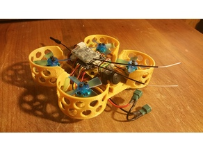Beecheese Brushless 85mm 2s frame 1102 w/ 1535 Props