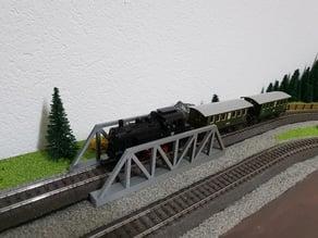 H0/HO - Bridge Märklin C-Track