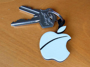 Apple Key Fob... The must have 'Apple Logo' shaped Key Fob for Apple / iPhone / iPad Fans
