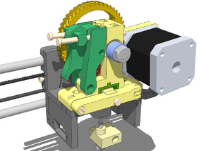 LUCAS extruder - finally a really universal extruder