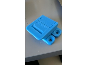 Box Lid Latch with Hole Template