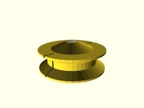Spool for a servo motor