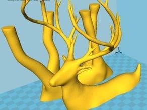 Deer - Easy print split STL