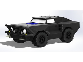 Apocalyptic Off Road Vehicle