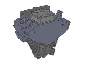 Optimize design for Dual Extruders including IR sensor - In Progress