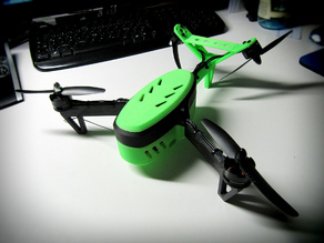 Mini V-Tail Copter (based on EMaglios TriCopter)
