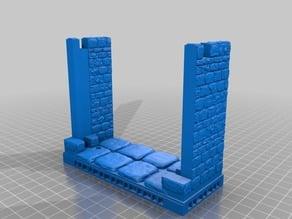 OpenForge Stone Gatehouse - OpenLock TRP Style
