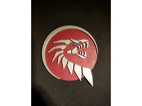 The Ultimate Beastmaster dragon logo