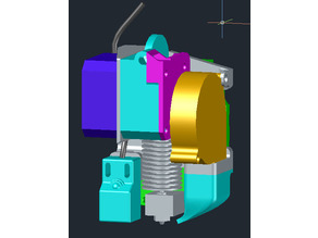 Hypercube E3D Titan Mount - WIP