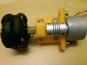 Mount for Stepper 28BYJ-48 with Bearing for 4mm Shaft