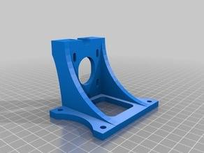 Parametric lower Z (motor) mounts for AO / MendelMax printers