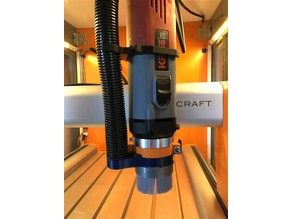 Dust shoe for Stepcraft CNC with Kress