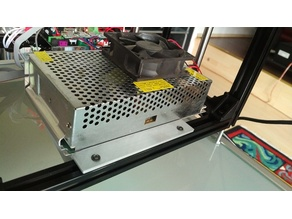 CL-260 12V/20A PSU Bracket for 2020 Profile