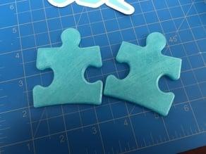 Autism Awareness Puzzle Piece - Light it up blue