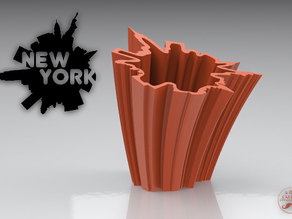 SkyLine Vase: NEW YORK