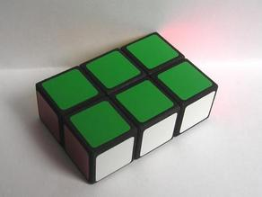 1x2x3 puzzle: A friendlier Rubik's Cube for a better world